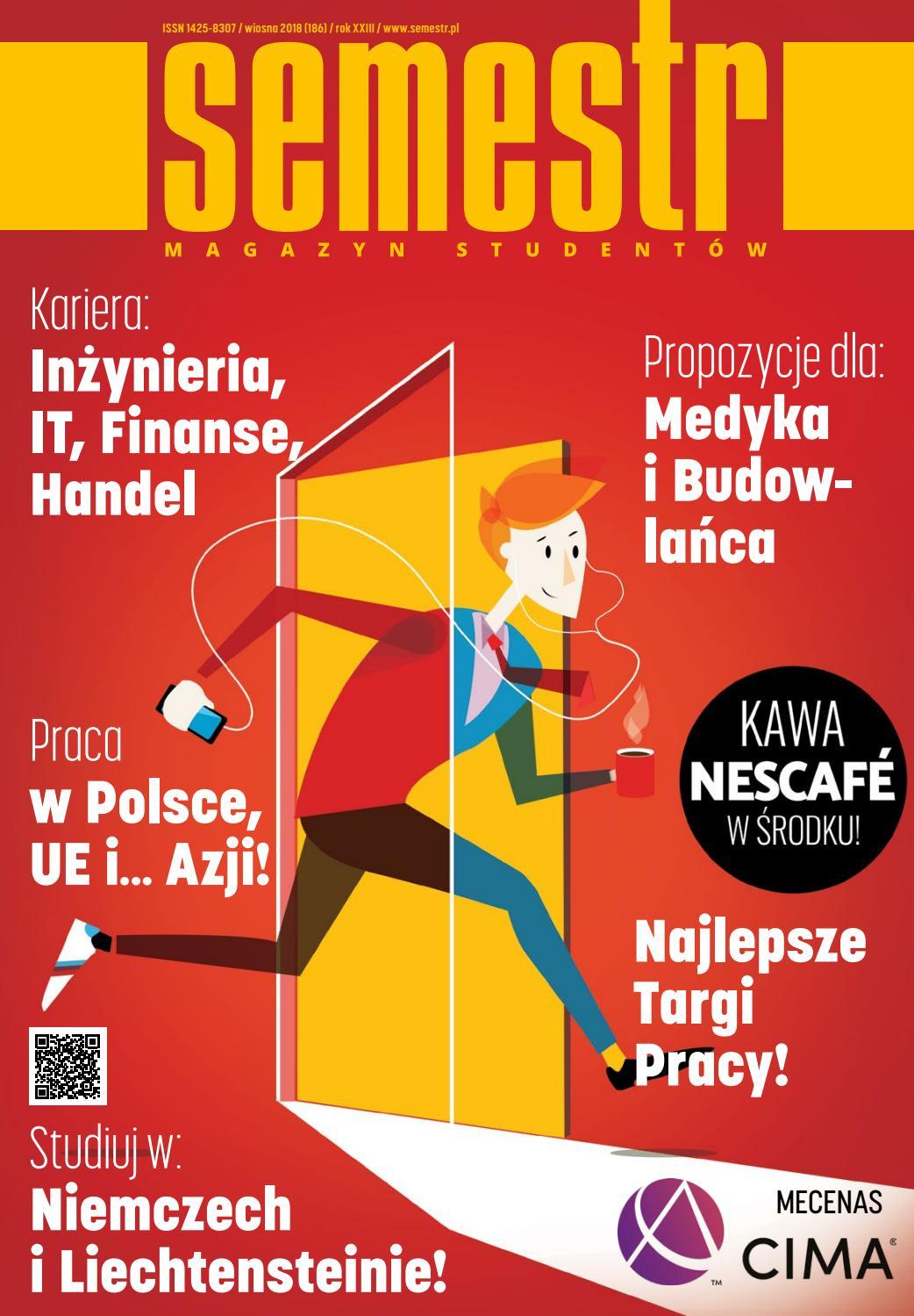 8fa09bfdb5 Magazyn SEMESTR Wydanie Wiosna 2018 by Magazyn SEMESTR - issuu