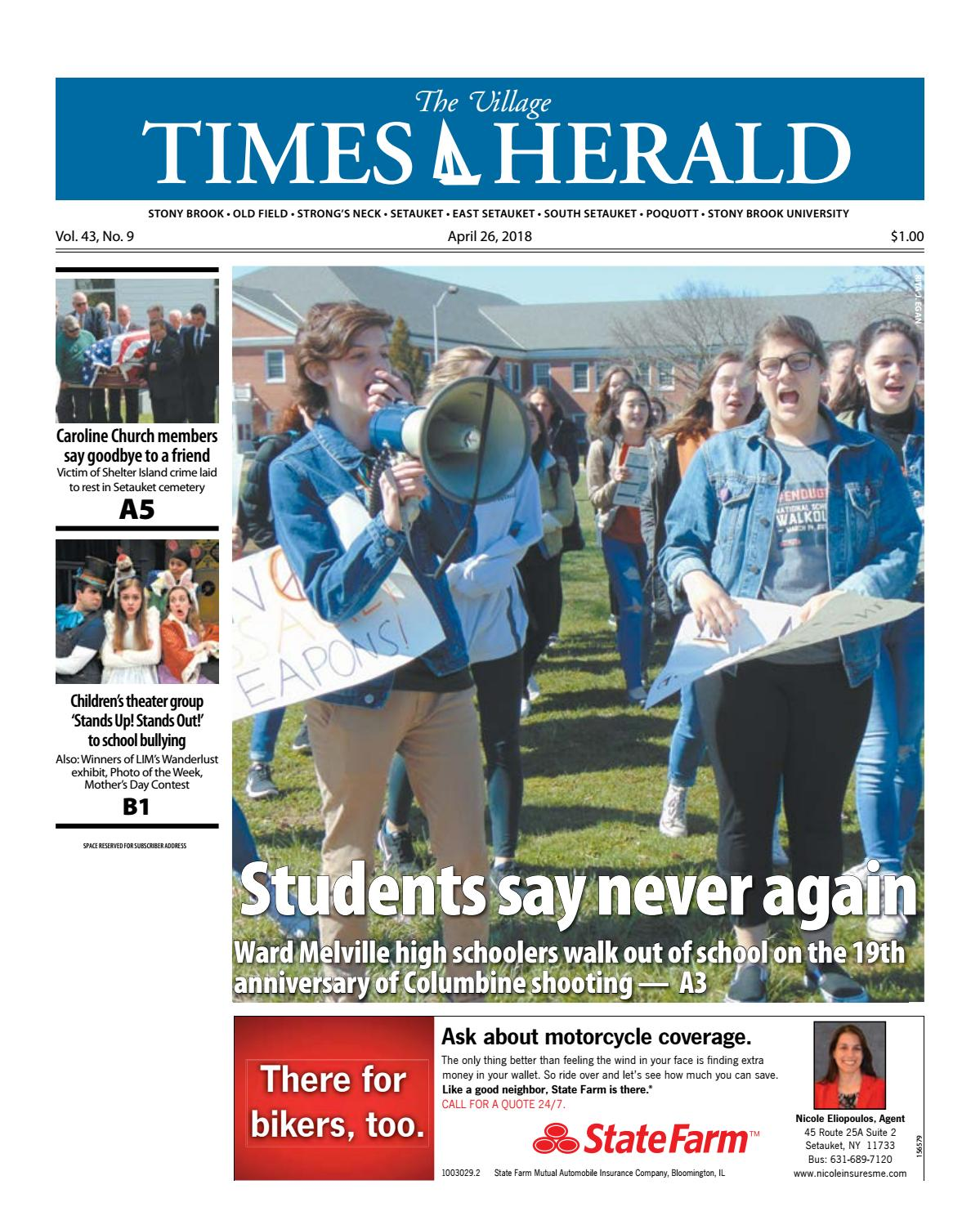 The Village Times Herald - April 26, 2018 by TBR News Media - issuu