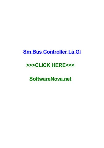 controleur de bus sm windows 7 asus