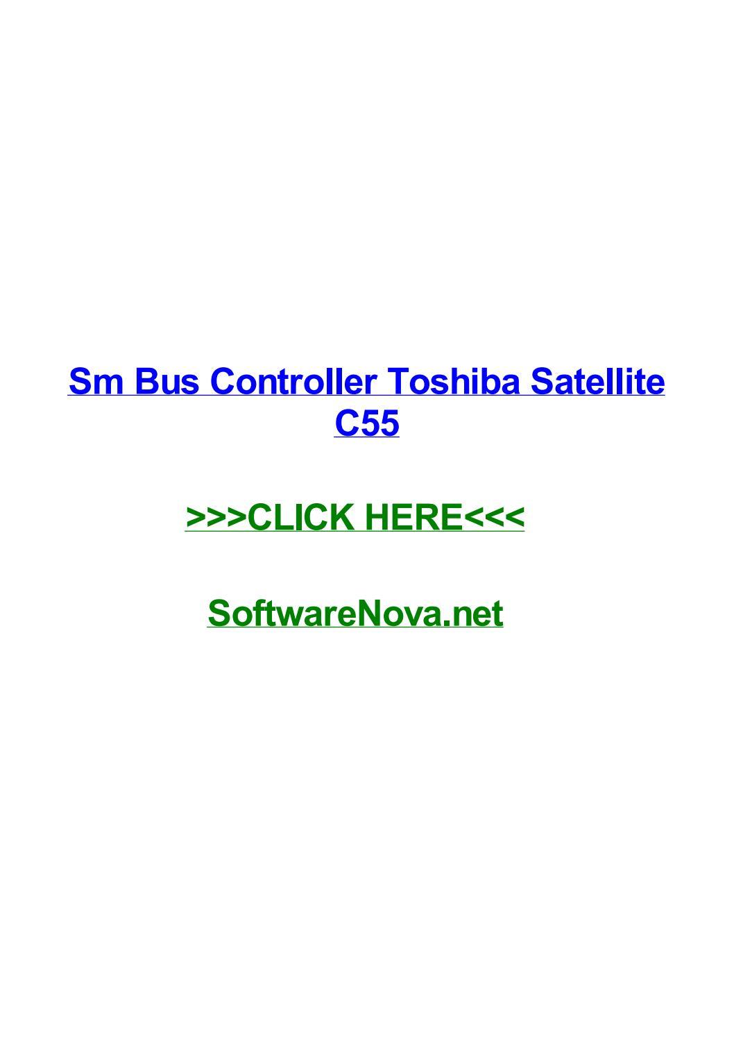 TÉLÉCHARGER DRIVER CONTROLEUR DE BUS SM POUR TOSHIBA GRATUIT