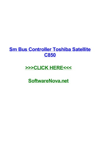 controleur de bus sm toshiba satellite