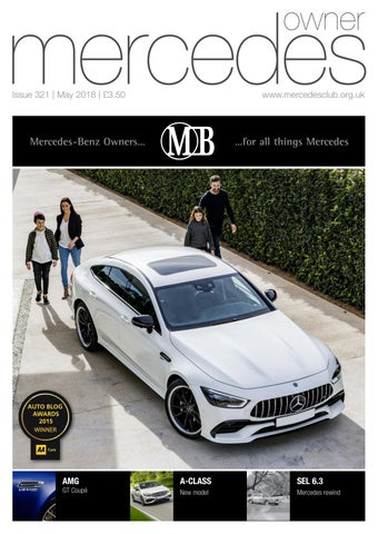 465d89c9e3 Mercedes Owner magazine May 2018 by Ruth Mark Sykes - issuu
