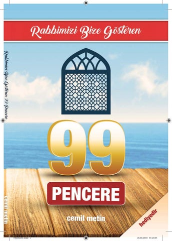 Rabbimizi Bize Gosteren 99 Pencere By Cemil Metin Issuu