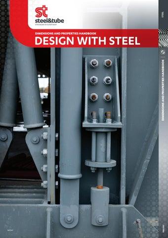 Design With Steel – Dimensions & Properties Handbook by Steel & Tube