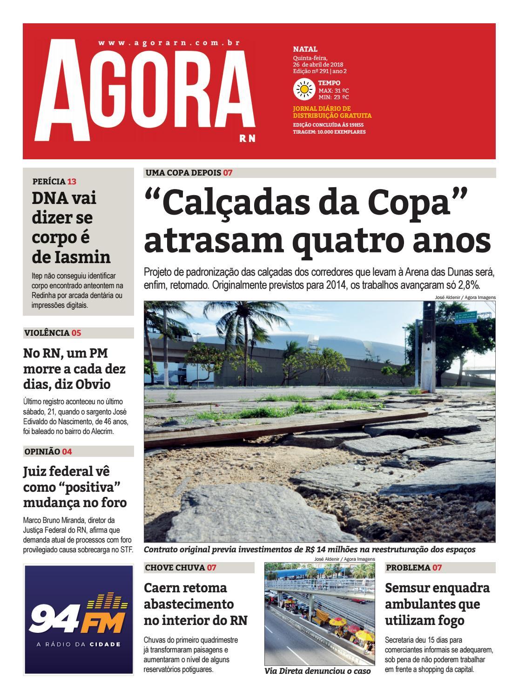 c18b1815e8b0e AGORA JORNAL - EDIÇÃO 291 by Agora RN - issuu