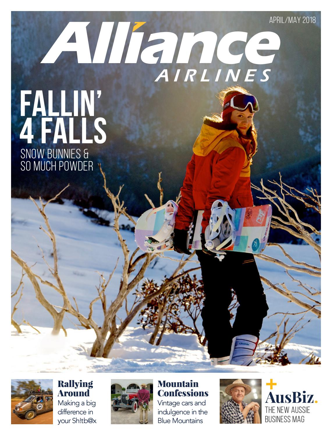 Alliance Airlines Magazine April May 2018 By Publishingbychelle Tas Gunung Sunature 65l Issuu