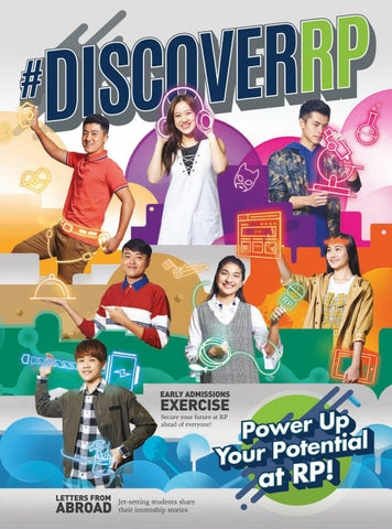 DiscoverRP - April 2018 by Republic Polytechnic - issuu