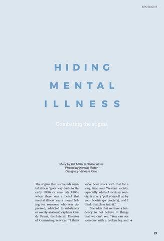 Page 27 of Hiding Mental Illness