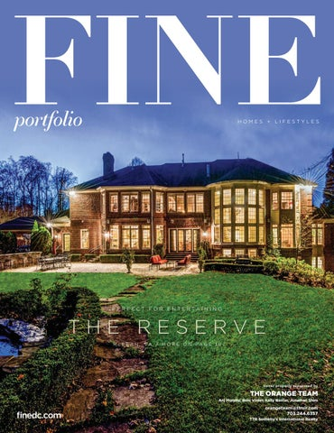 FINE Portfolio | Homes & Lifestyles | April/May 2018