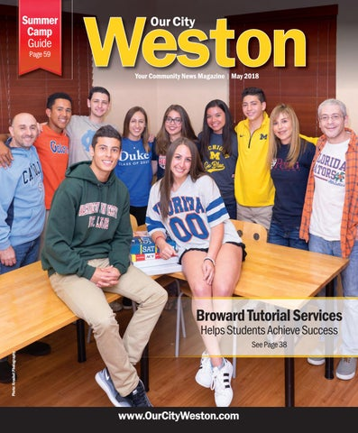 fac21f9b4cb Our City Weston  May 2018 by Our City Media - issuu