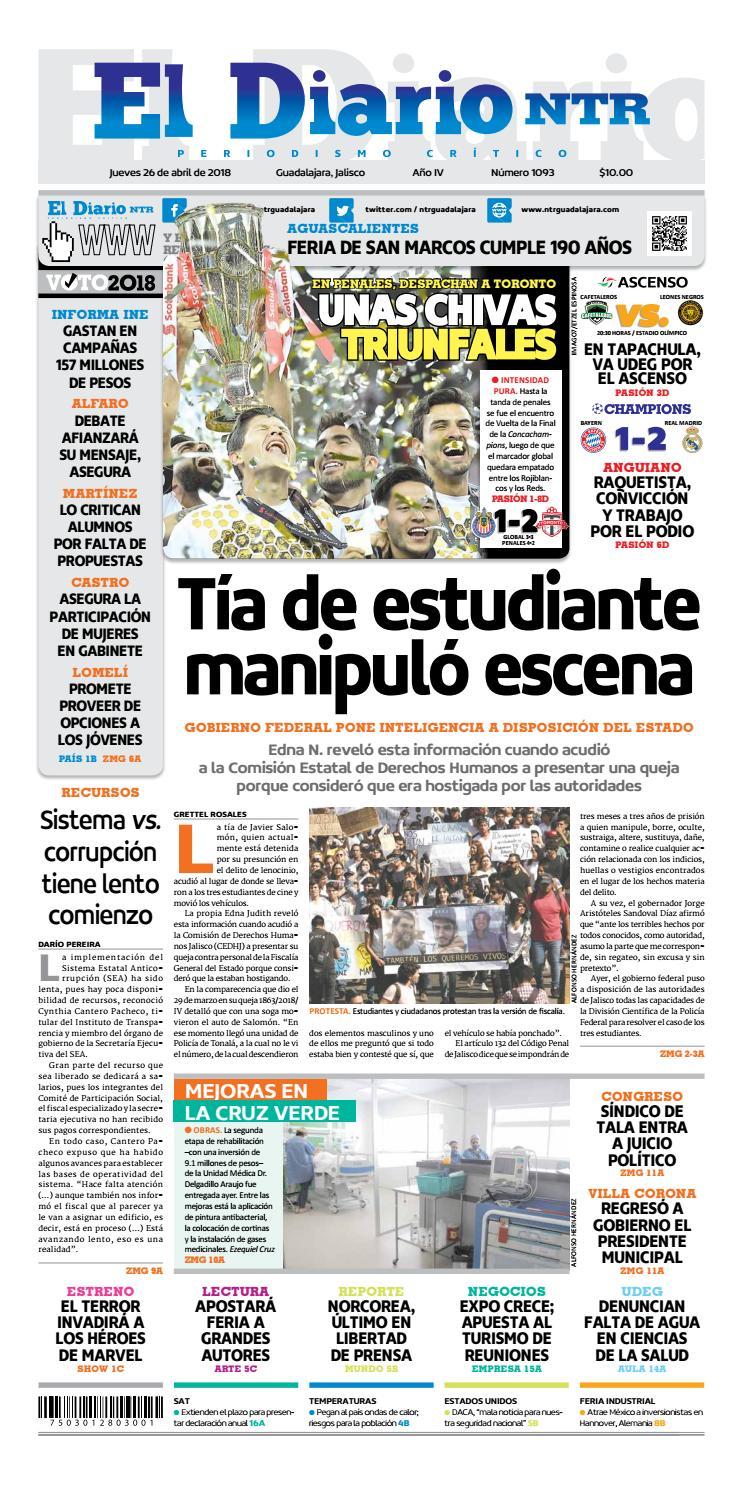 El Diario NTR 1093 by NTR Guadalajara - issuu