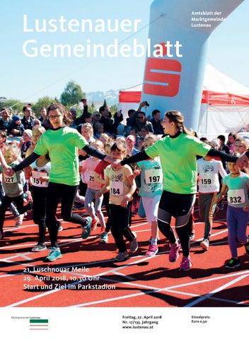 Gemeindeblatt 17 2018 by Marktgemeinde Lustenau - issuu