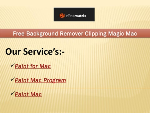 Free Background Remover Clipping Magic Mac By Video Player For Mac