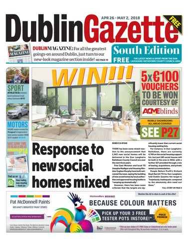 961870aca085 Dublin Gazette  South Edition by Dublin Gazette - issuu
