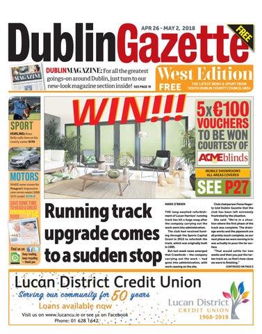 Dublin Gazette  West Edition by Dublin Gazette - issuu 03167df1b3544