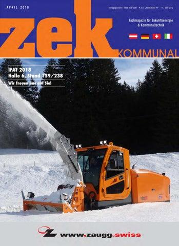 zek Kommunal - Ausgabe 1 - 2018 by zek Magazin - issuu