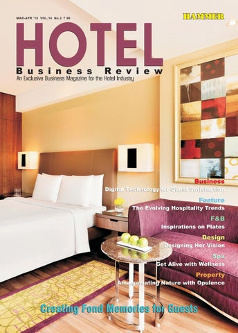 Hotel Business Review (March-April 2018) by Hammer Publishers Pvt