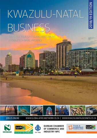Kwazulu Natal Business 201819 By Global Africa Network Issuu