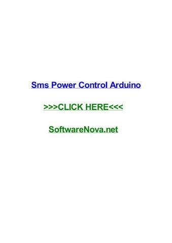 Sms power control arduino by joespccw - issuu