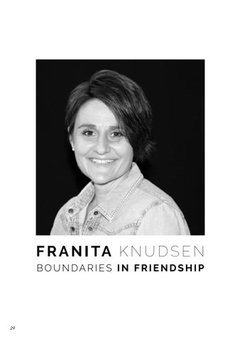 Page 32 of THIRTY ONE: Issue 11: Franita Knudsen