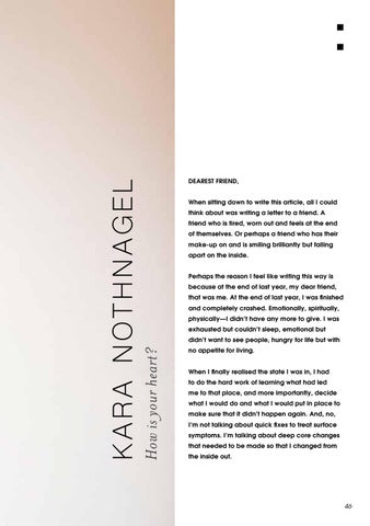 Page 49 of THIRTY ONE: Issue 11: Kara Nothnagel
