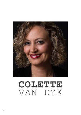 Page 8 of THIRTY ONE: Issue 11: Colette van Dyk