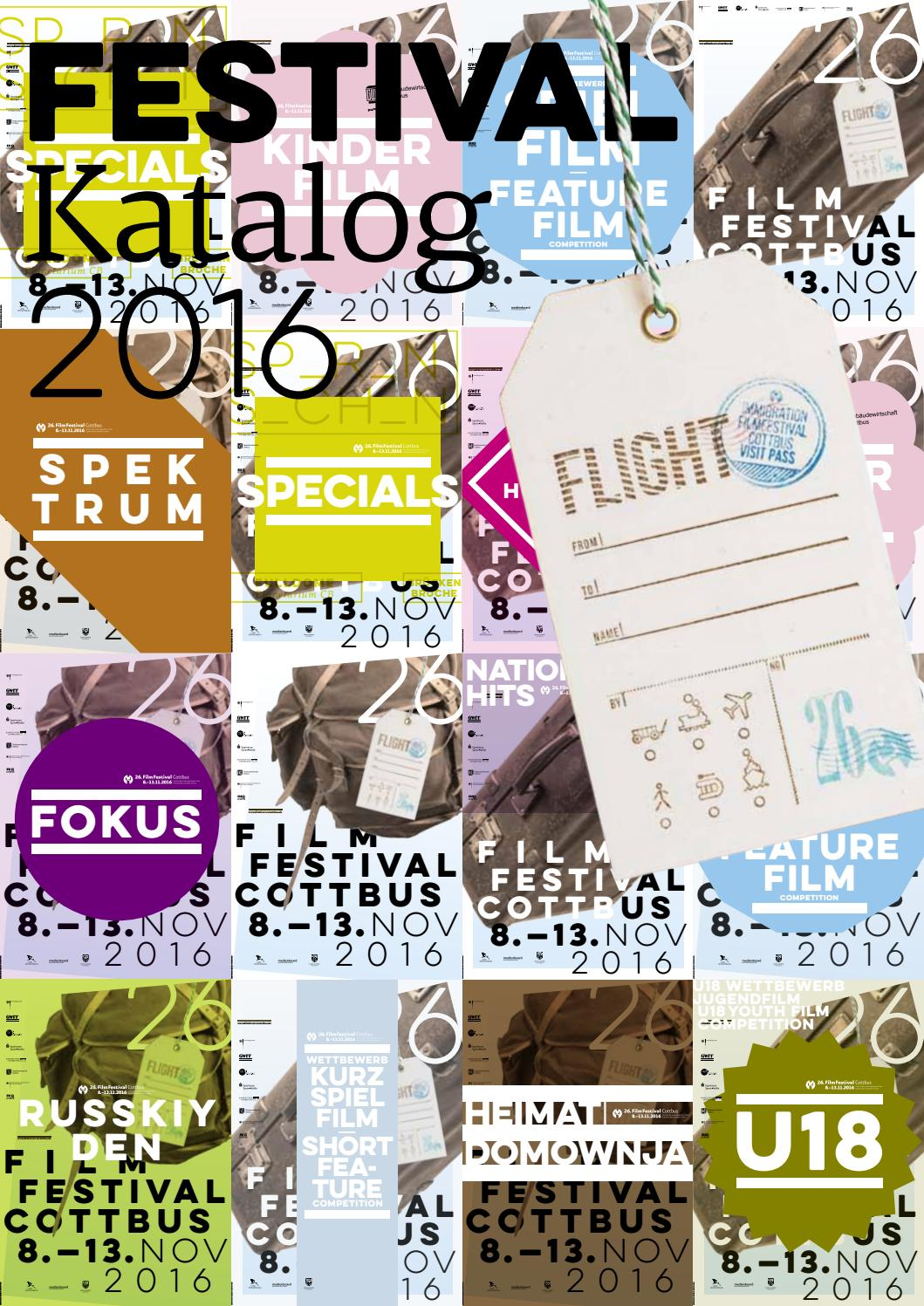 26. FilmFestival Cottbus Katalog|Catalogue by FilmFestival