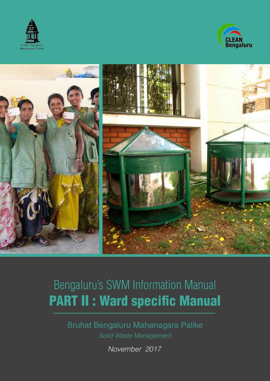 Swm information manual part ii ward specific manual (english) by