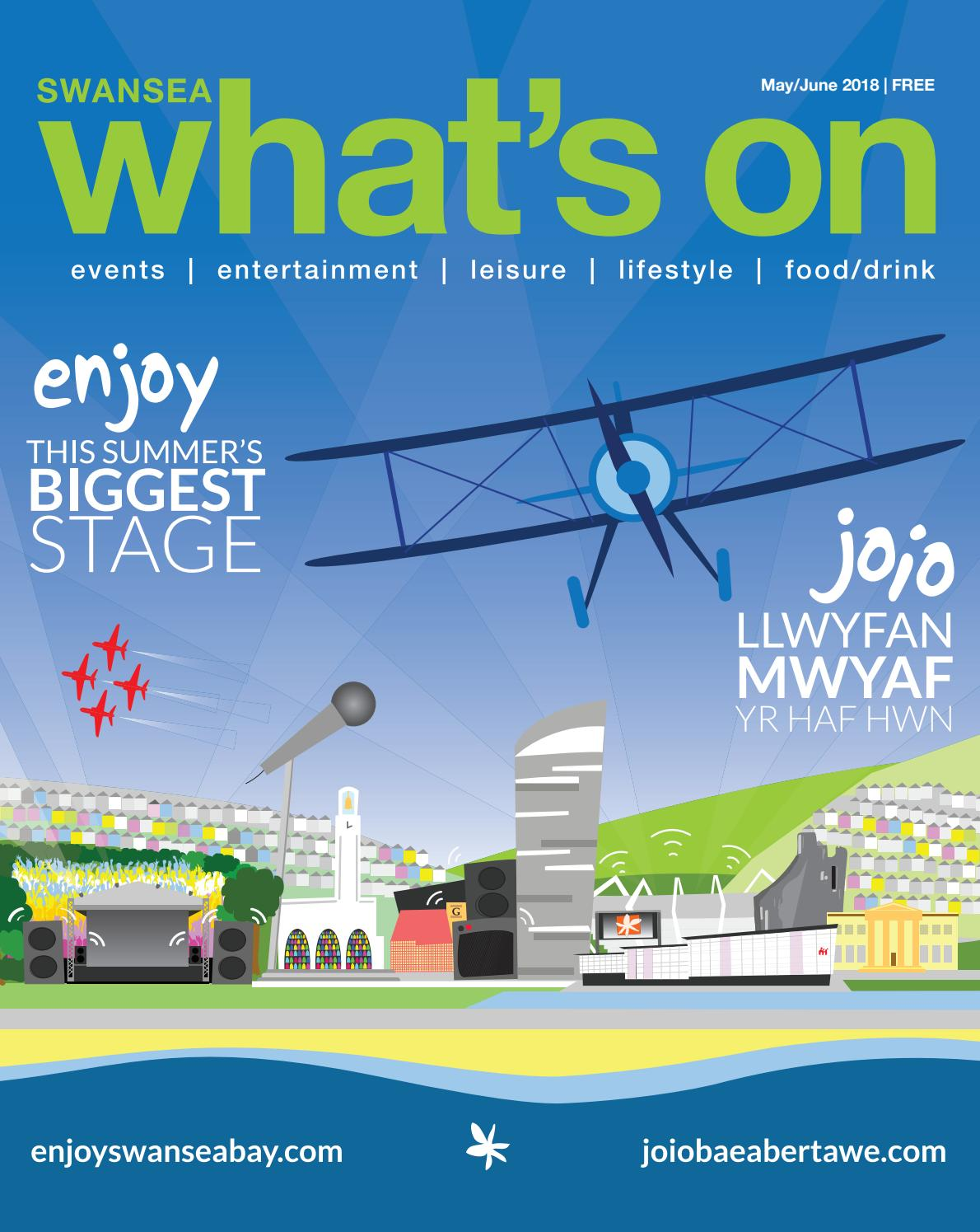 What\'s On in Swansea Magazine May:June 2018 by What\'s On in Swansea ...