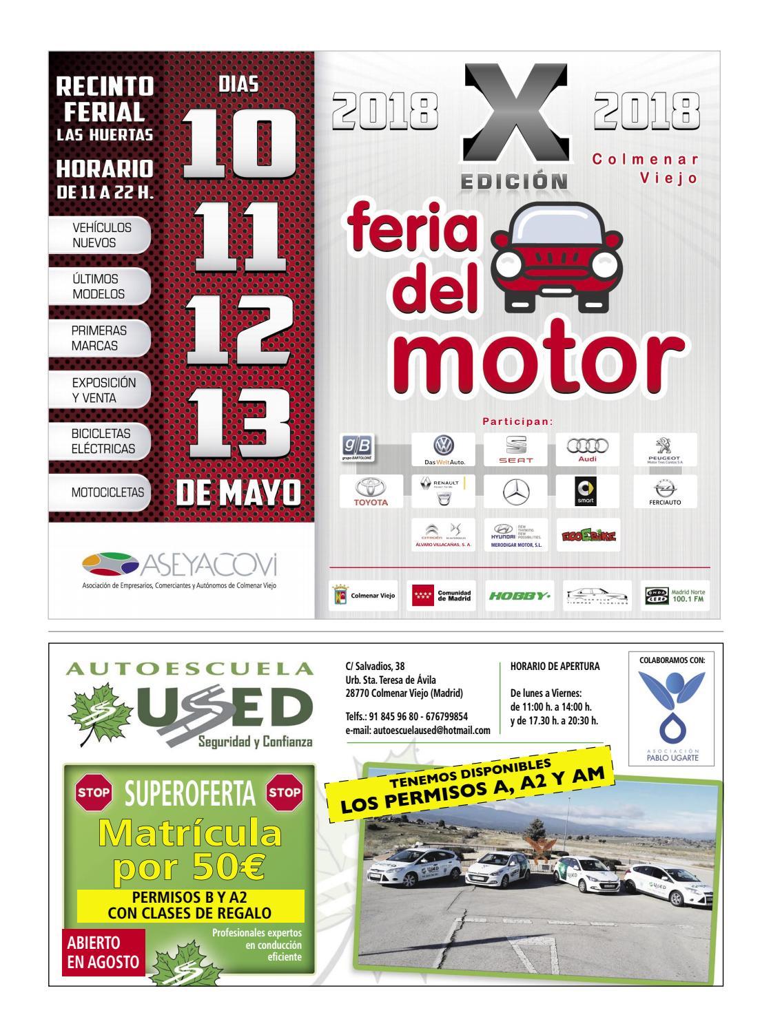 Circuito Quemagrasas : El Único nº152. abril 2018 by aseyacovi issuu