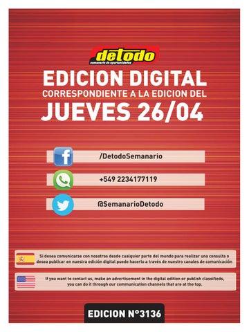 b29054a67 Semanario Detodo - Edición N° 3136 - 26/04/2018 by Semanario Detodo ...