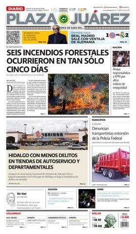 993e9b63172ba 26 04 18 by Diario Plaza Juárez - issuu