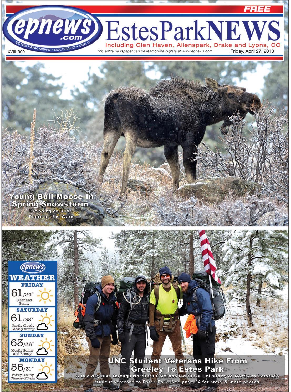 Estes Park News, April 27, 2018 by Estes Park News, Inc - issuu