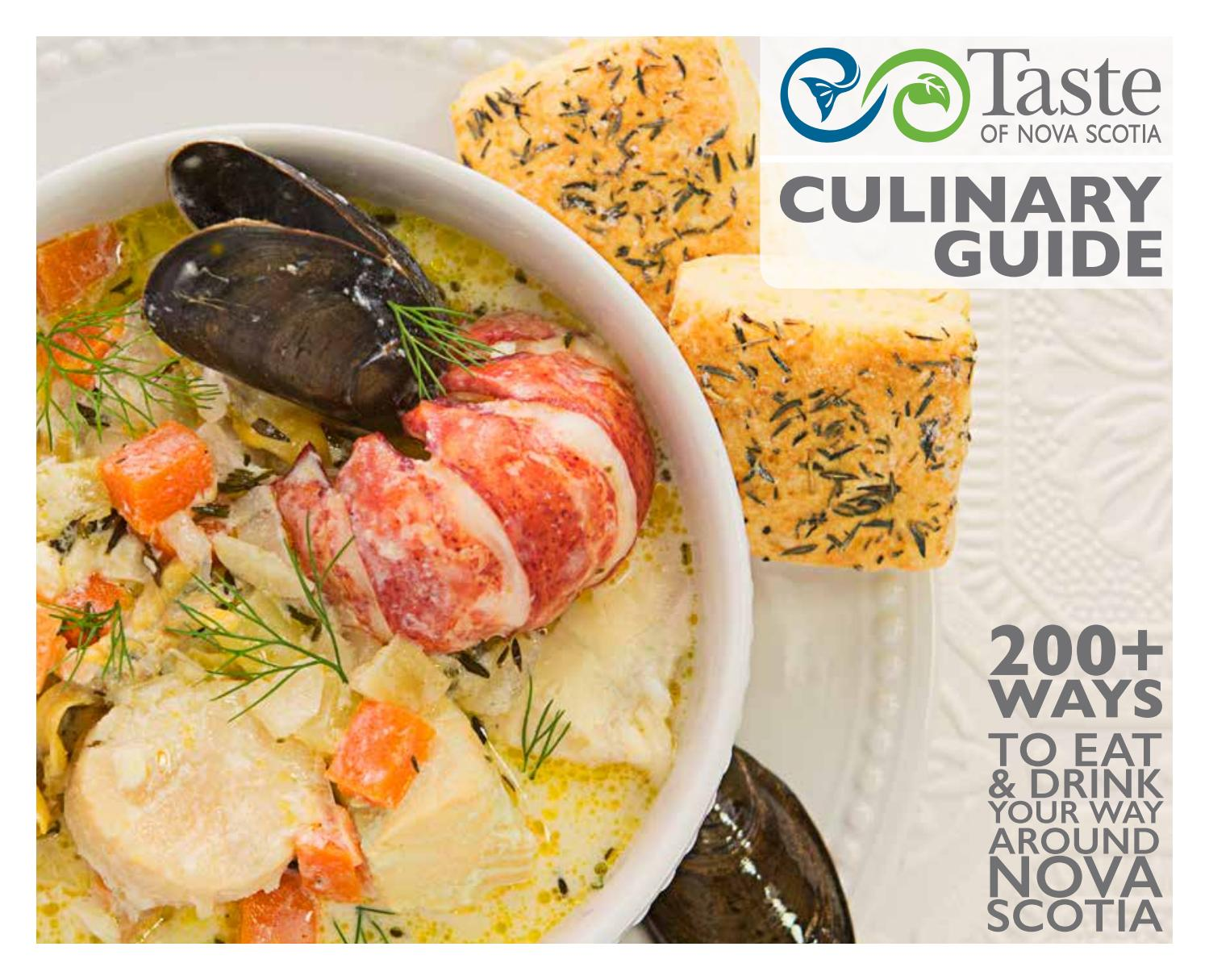 2018 Taste Of Nova Scotia Culinary Guide By Issuu Cool Cold Ice2 Cooling Pad 156 Inch