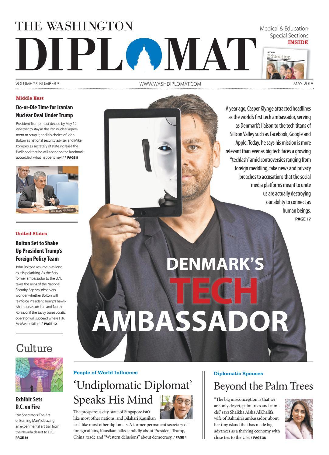 9eb549e0c5 May 2018 by The Washington Diplomat - issuu