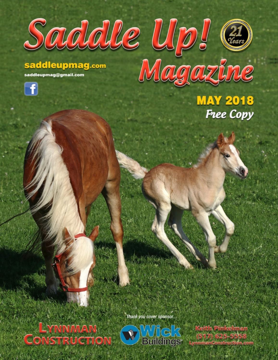 May 2018 Saddle Up! Magazine