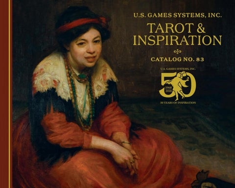 2018 U S  Games Systems, Inc  Tarot & Inspiration Catalog by U S