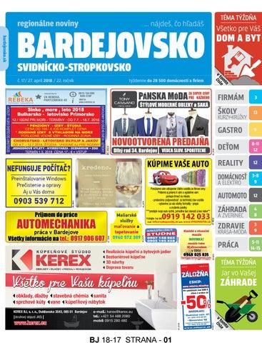 c5049bbd387d3 Bj1817 by REGIONPRESS - Bardejovsko - issuu