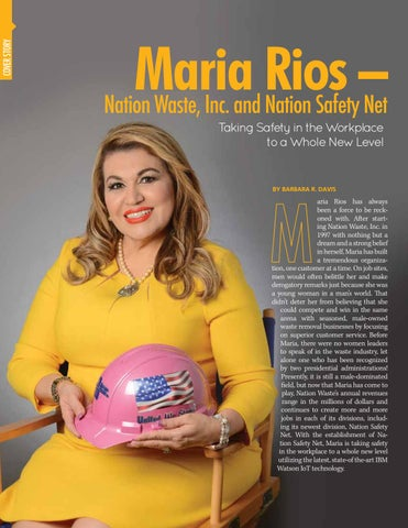 Page 8 of MARIA RIOS, Nation Waste, Inc