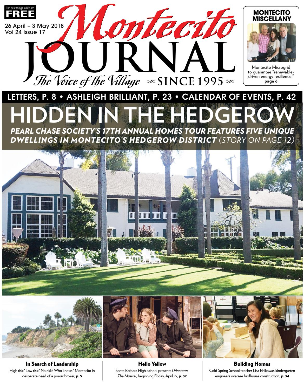 3c9b2757cfdd13 Hidden in the Hedgerow by Montecito Journal - issuu