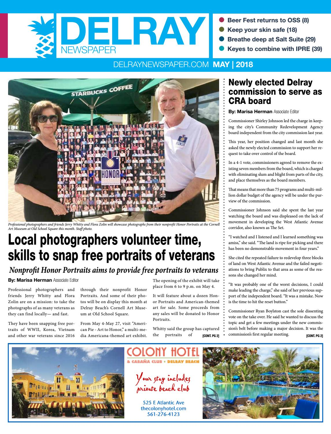 Delray Newspaper | May 2018 by Four Story Media Group - issuu