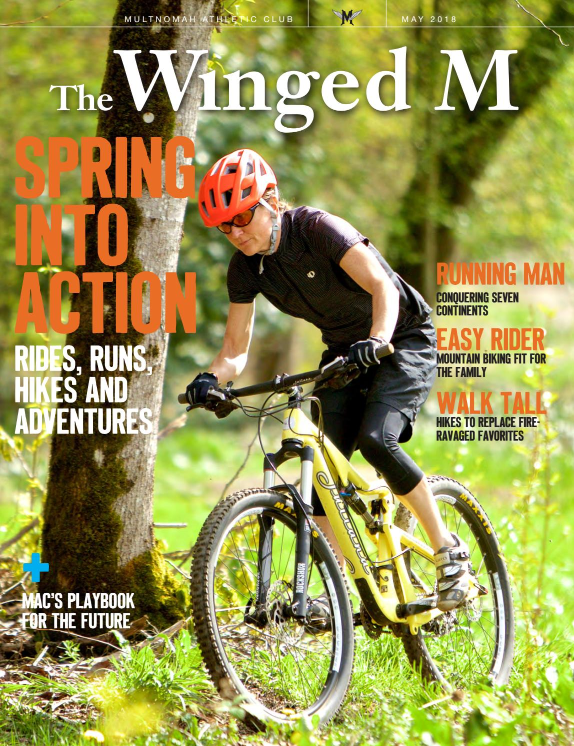 The Winged M May 2018 By Multnomah Athletic Club Issuu