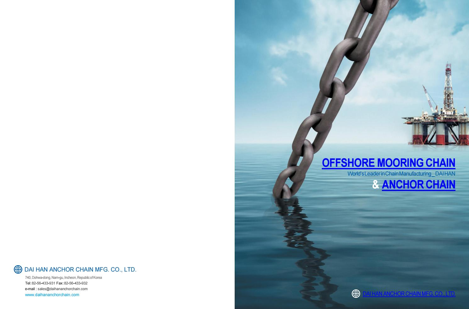 Offshore mooring chain & anchor chain by conclubiltz - issuu