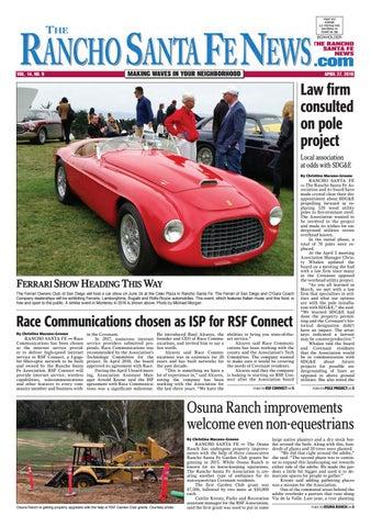 Rancho Santa Fe News April By Coast News Group Issuu - San diego classic car show 2018