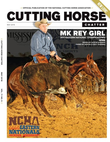 Cutting Horse Chatter - May 2018 by Cowboy Publishing Group - issuu