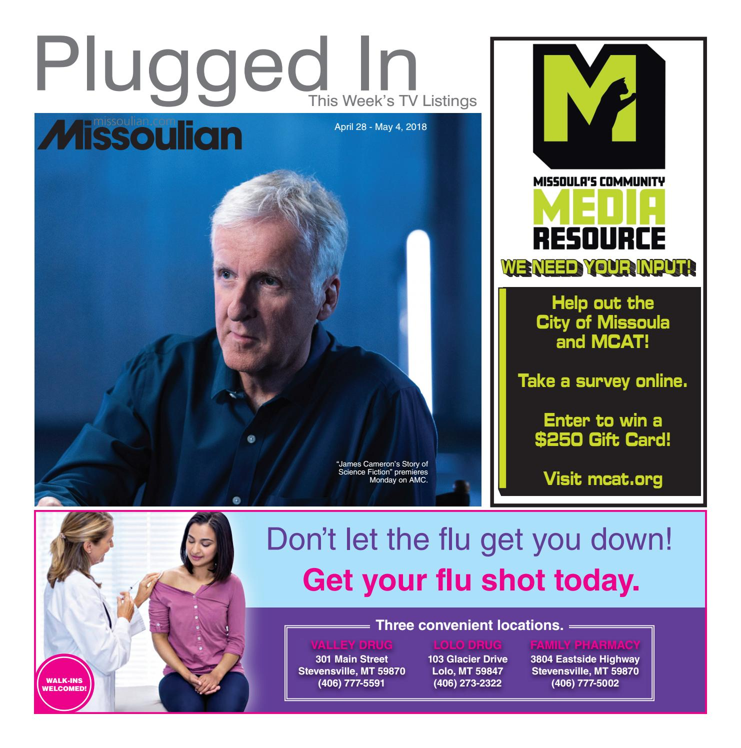 Missoulian TV Book Friday April 27 2018 by Missoulian issuu