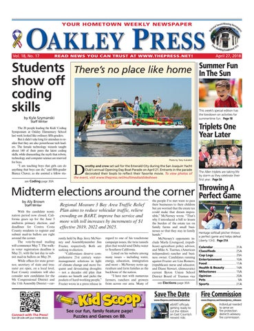 a745797a6e9 Oakley Press 04.27.18 by Brentwood Press   Publishing - issuu