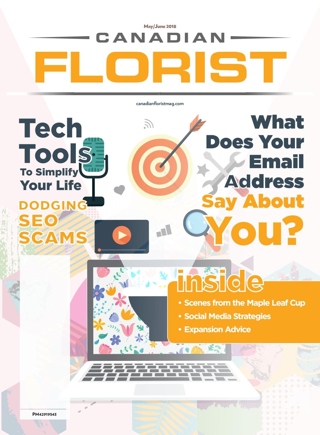 Canadian Florist - May 2018 by Strider Media - issuu