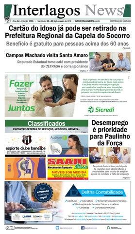8a2131c64 INTERLAGOS NEWS - Edição - 1135 - São Paulo, 03 a 09 de Fevereiro de ...