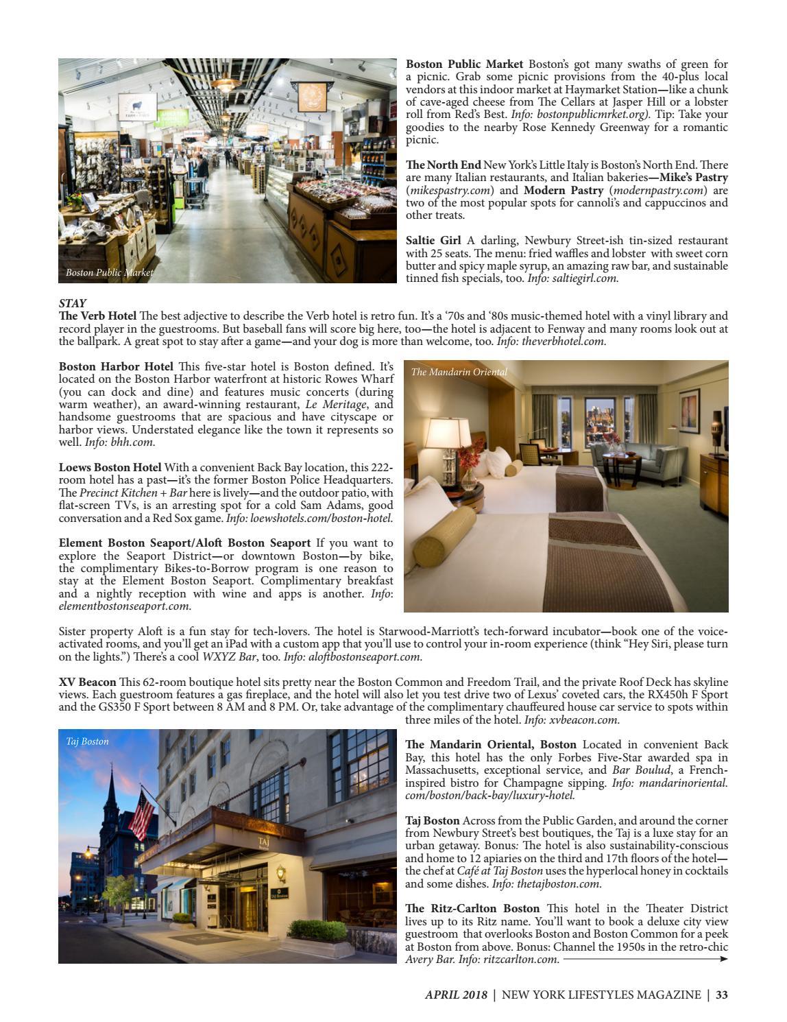 New York Lifestyles Magazine - April 2018